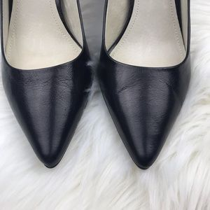 MICHAEL Michael Kors Shoes - Michael Kors Leather Black Pump /Heel Sz 8M